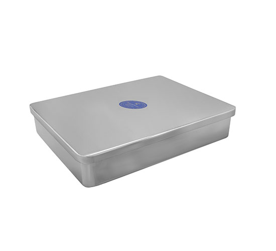 KARISHMA STAINLESS STEEL TRAY WITH COVER