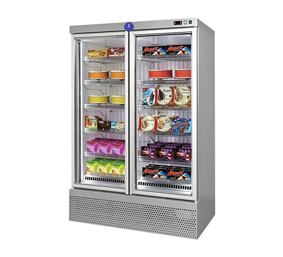 KARISHMA STAINLESS STEEL VERTICAL REFRIGERATOR AND FREEZER