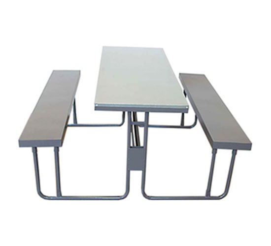 KARISHMA STAINLESS STEEL DINING TABLE