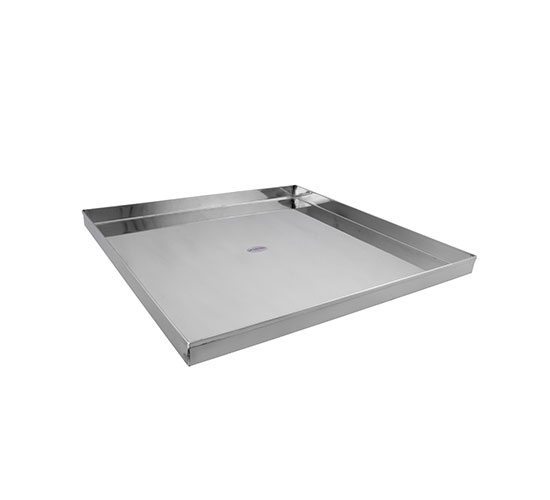 KARISHMA STAINLESS STEEL TRAY WITHOUT COVER